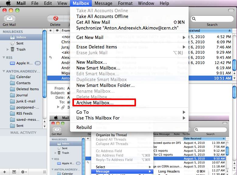 save email as pdf mac